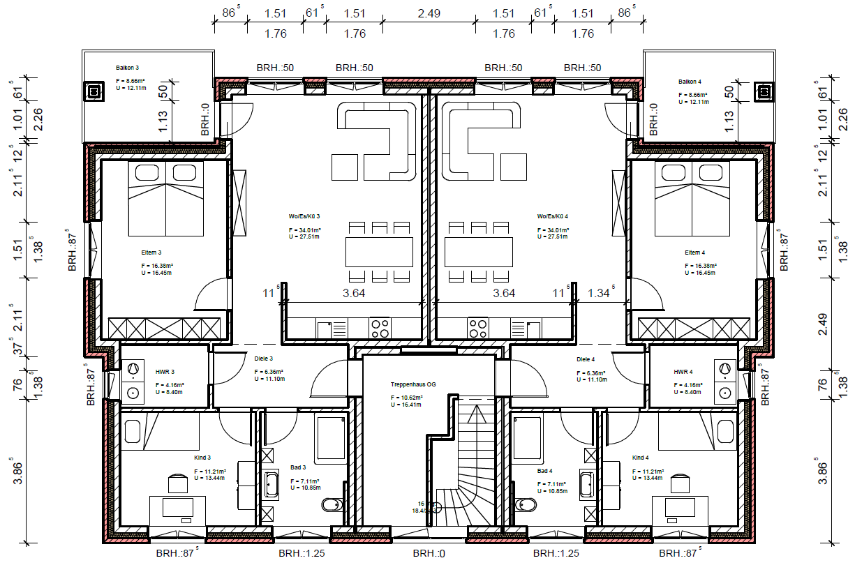 neubauwohnungen in zentraler lage von weener conceptum immobilien. Black Bedroom Furniture Sets. Home Design Ideas